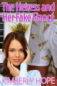 Photo of Heiress and Her Fake Fiance by Kimberly Hope book cover