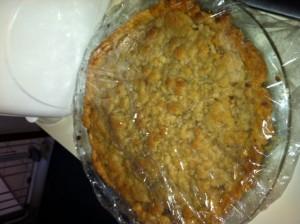 French Apple pie photo