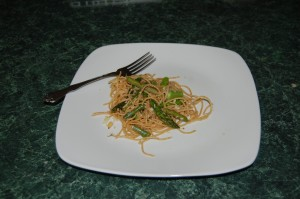 Linguine with Asparagus and Pine Nuts